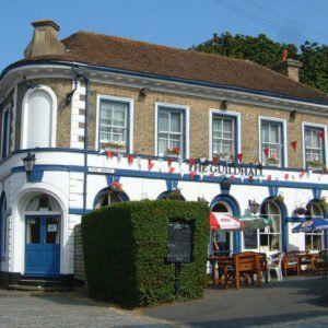 Guildhall Pub Folkestone near Chandos Premier Guest House Folkestone
